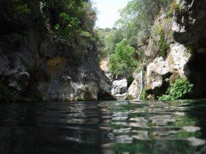Río grande, barranquismo